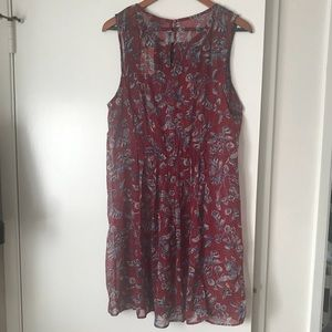 Lucky Brand Dresses - Lucky Brand Mixed Floral Dress